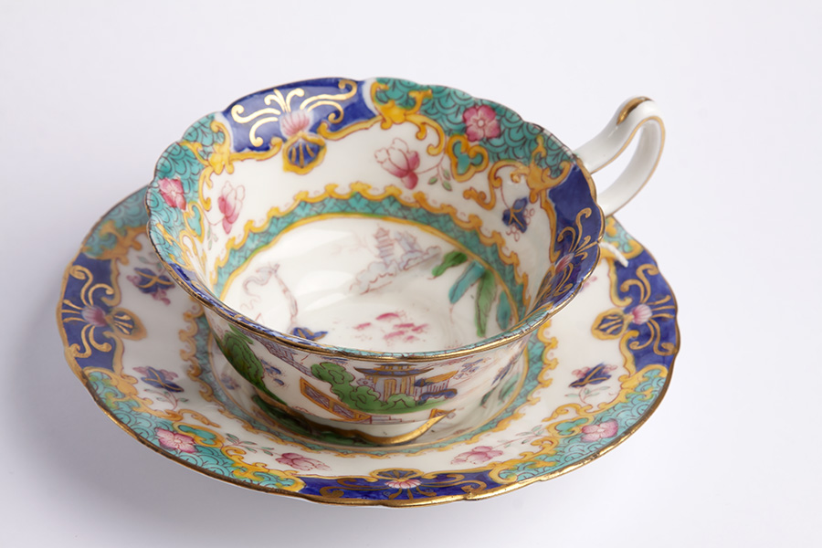 Royal Doulton Chinoiserie Trio Mourne Antiques Amp Jewllery